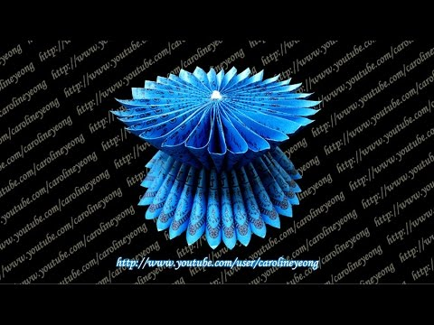CYS教程】敬神摺紙~蓮花座の一(Origami~Lotus Seat ...