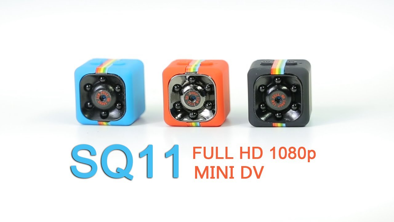 SO CUTE- SQ11 HD PRORTABLE HANDHELD MINI CAMERA - YouTube