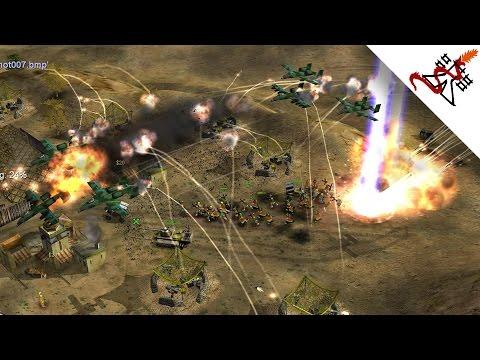 Command & Conquer: Generals - 4v4 HARDEST BATTLE