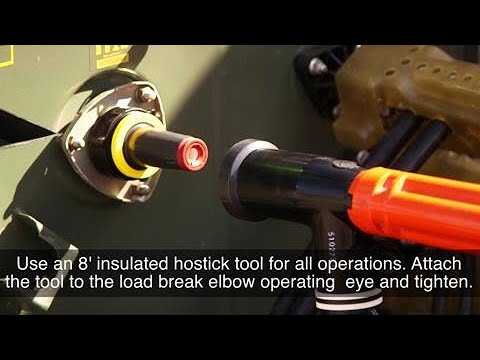 Loadbreak Elbow Installation - Hubbell Power Systems