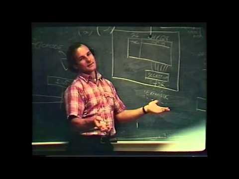 David Patterson's 1982 UC Berkeley Distinguished Teaching Award (4 minutes)