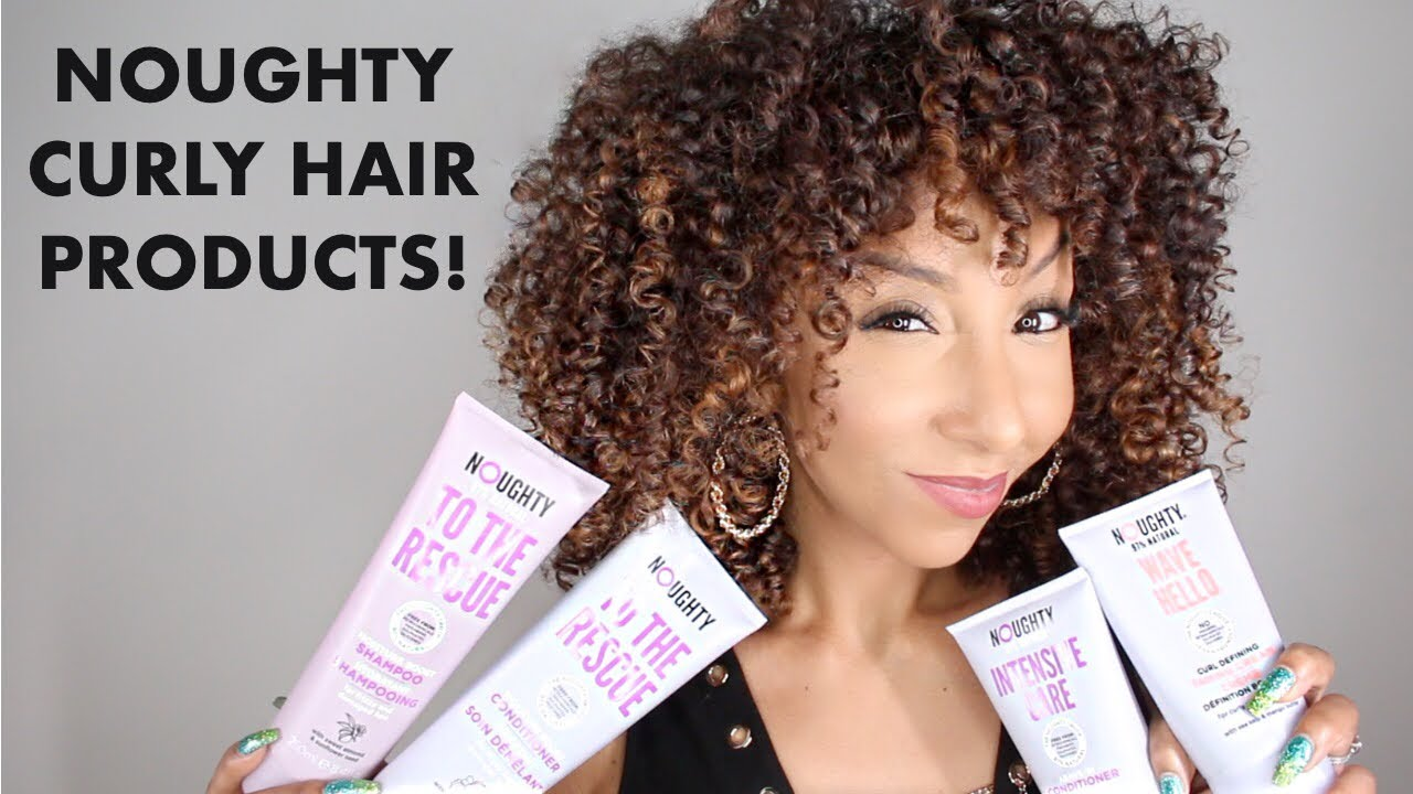 Download NOUGHTY Curly Hair Products From The UK!   BiancaReneeToday