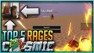 CosmicPvP Top 5 rage quits!