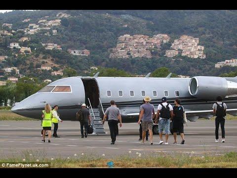 Leonardo DiCaprio hops helicopter gas guzzling private jet Saint Tropez celebrity eco  fundraiser