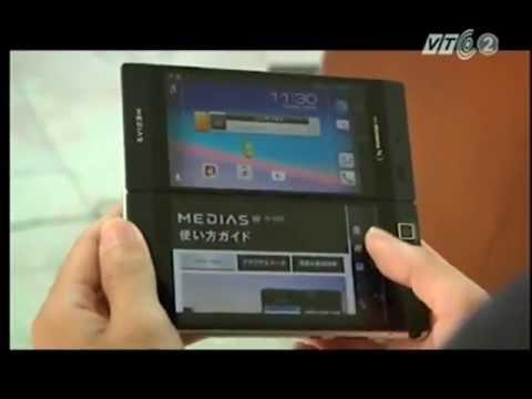 điện thoại độc 2 màn hình của NEC N-05E tại cửa hàng congnghenhat.vn