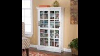 MS1072: Sliding Door Media Cabinet - White Assembly Video