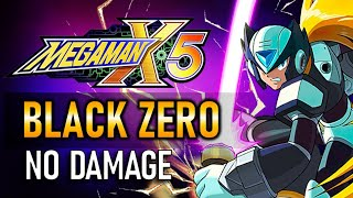 MegaMan X5: Black Zero (No Damage Completion Run) All Stages.