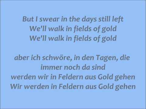 Fields of Gold - Sting Lyrics/Übersetzung || ♫ Oktoberspecial ♫ #7