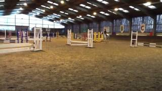 BCA 5 Jan 2013 Maddie & Patch 50cm jump off