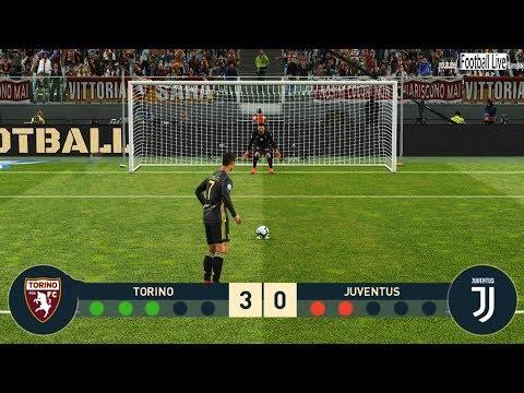 PES 2019 | TORINO vs JUVENTUS FC | Penalty Shootout | Ronaldo vs Torino | Gameplay PC
