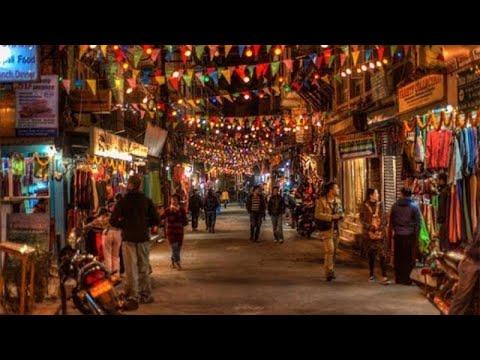 Evening in THAMEL, Kathmandu