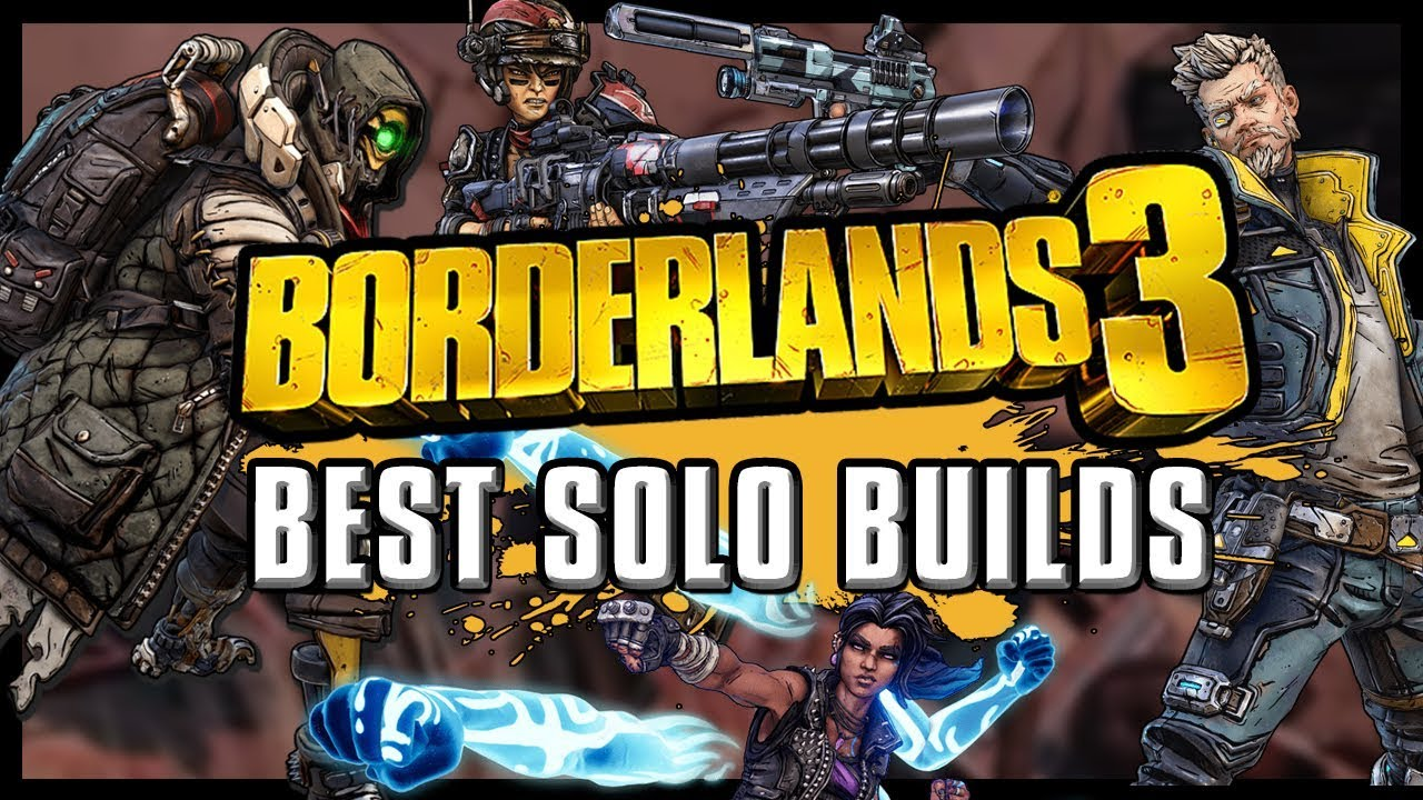 Here's The Best 'Borderlands 3' Character For Solo Players