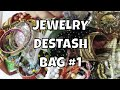Jewelry Destash Bag #1 - SOLD $40 Jewelry - See What's Inside the Bag