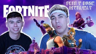$100 FREE FORTNITE V BUCK GIVEAWAY COMING SOON!!! **How To Enter**