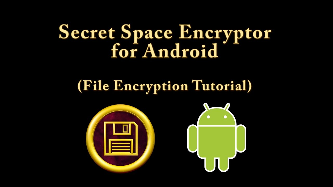 Android: File Encryption Tutorial