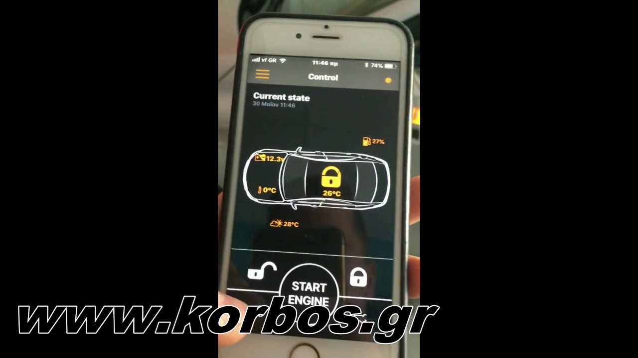 Mercedes GLA-Συναγερμός Pandora mini www.korbos.gr