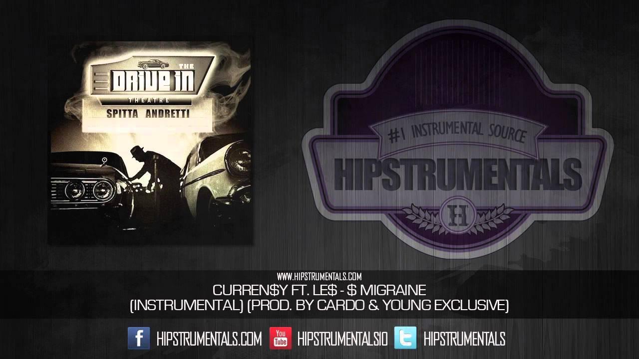 Curren$y Ft  LE$ - $ Migraine [Instrumental] (Prod  By Cardo & Young  Exclusive) + DL