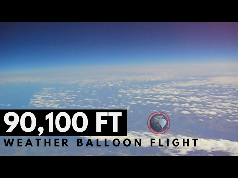 High Altitude Weather Balloon | Full Flight | OLHZN-2