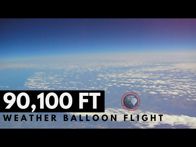 HIGH ALTITUDE WEATHER BALLOON 35mm LENS 🎈 Full Flight