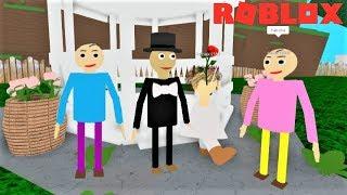 PLAY AS WEDDING BALDI!! HE NEEDS YOUR HELP!! | The Weird Side of Roblox: Baldi's Basics RP UPDATE
