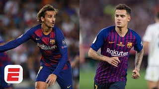 Espn fc's adrian healey chats with alejandro moreno, frank leboeuf and shaka hislop about lionel messi antoine griezmann's relationship. says grie...