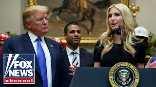 Trump says Ivanka would be hard to beat for president