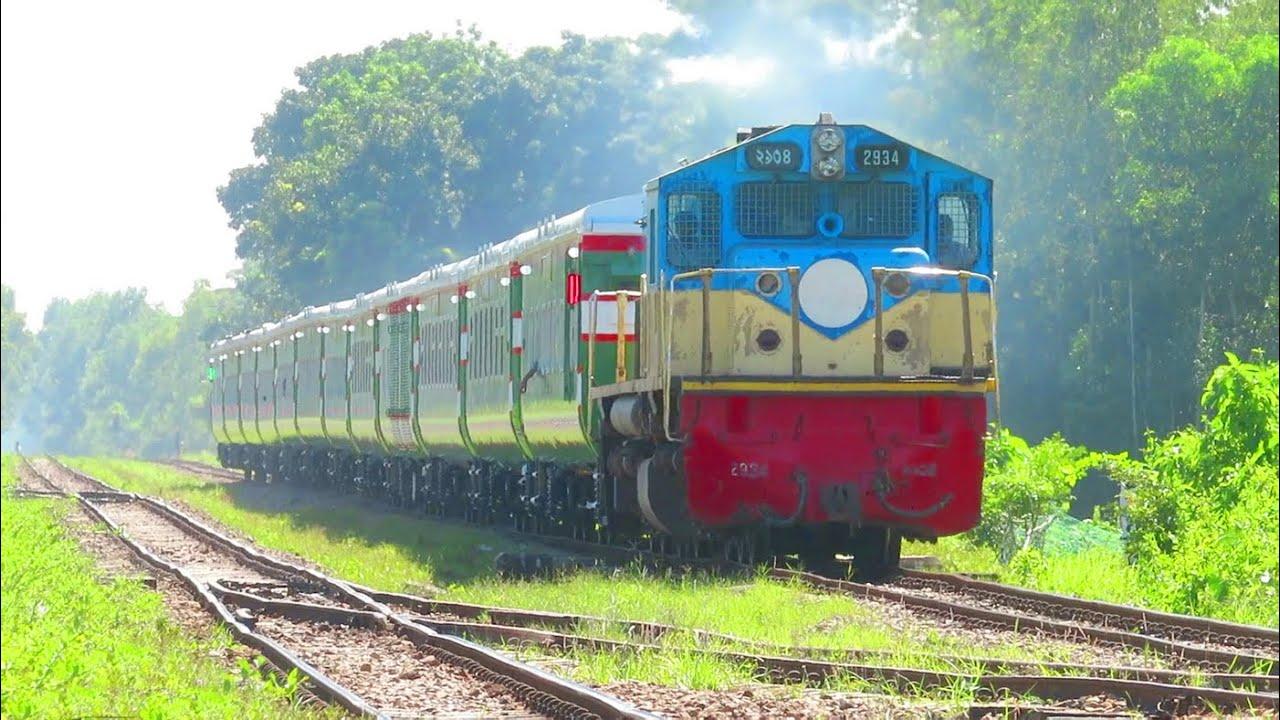 New pt inka coach Trial Run    Bangladesh Railway Load Trails Of PT INKA coach