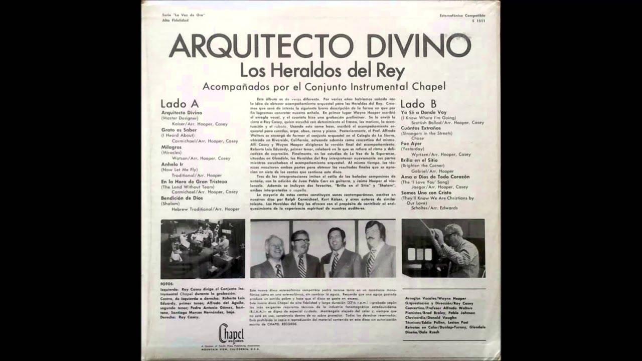 01 Los Heraldos del Rey - Arquitecto Divino