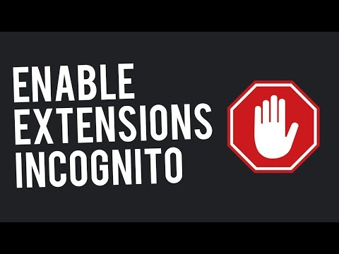 Enable Extensions in Chrome Incognito   How To Enable Adblock on Incognito
