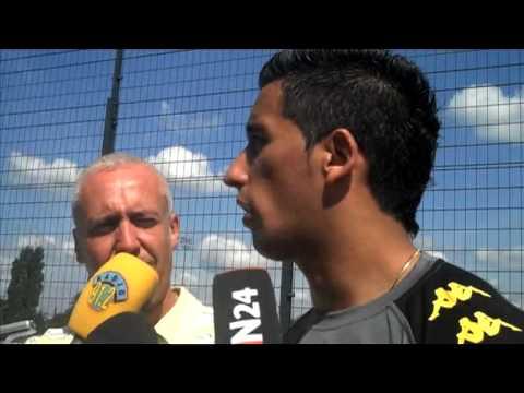 Lucas Barrios - Erstes Training beim BVB - Borussia Dortmund