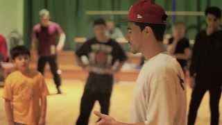 B-Boy Kid Glyde Dynamic Rockers iLL Sessions Workshop