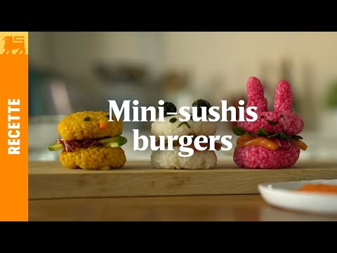 Mini-sushis Burgers