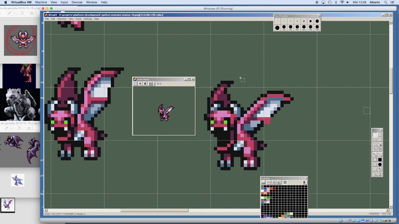 Game Character Design Tutorial : How to pixel art character animation design platformer