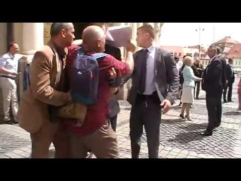 Protestatar Sibiu- Ioahnnis- SPP