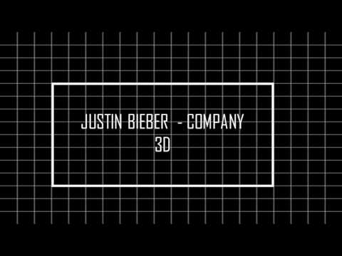 JUSTIN BIEBER - COMPANY + 3D USE HAEDPHONE
