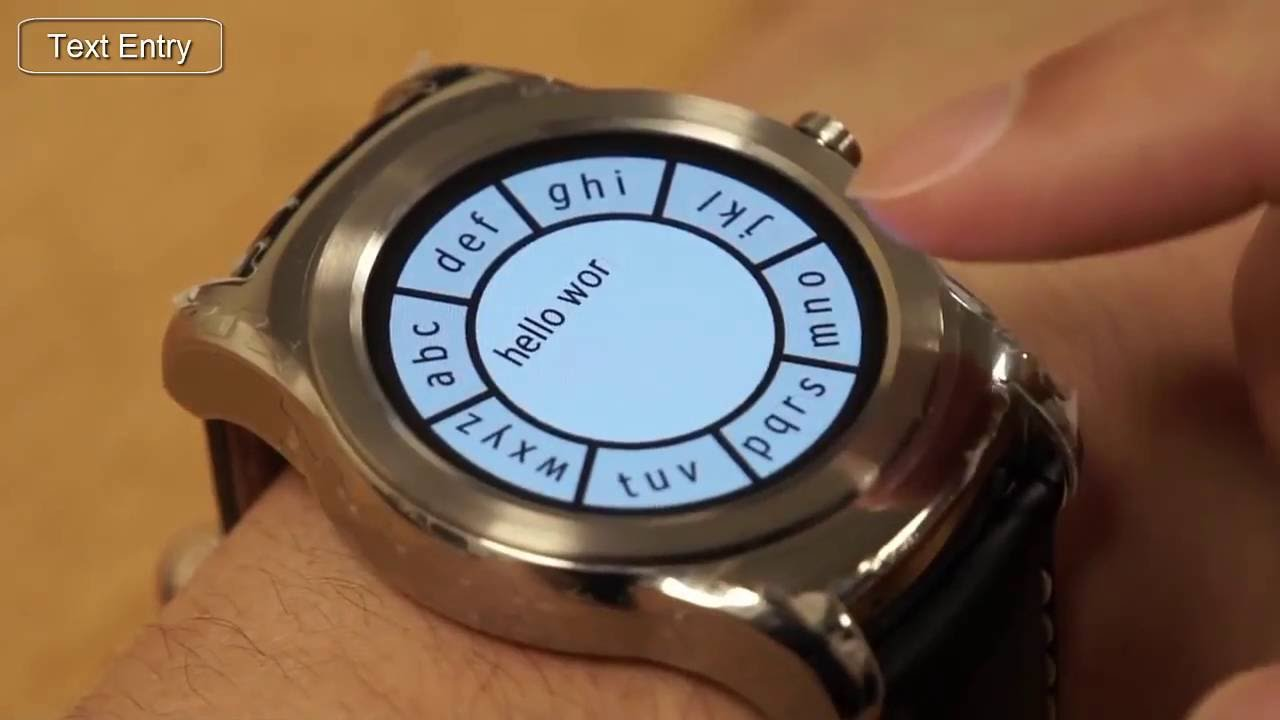 Method to Make Smart-Watches Easy to Use - YouTube 6e1d25d80