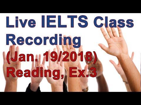 IELTS Lesson - Reading - Passage 3