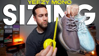 YEEZY BOOST 350 MONO'S SIZING - How do they fit?