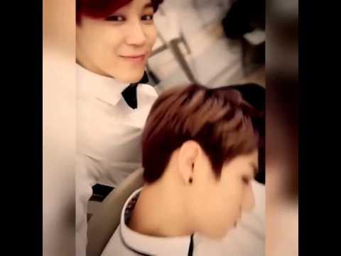 JungKook sleeping (with Jimin)