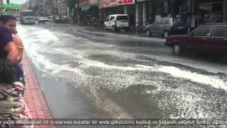 Yaz Yağmuru Akhisar'ı Serinletti