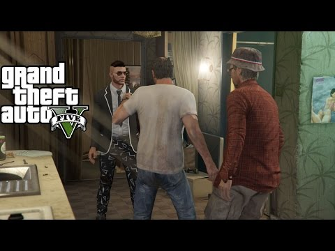 GTA V Online : First Meeting with the TP Industries