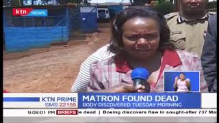 Mumbi Girls High School Matron found dead in Murang'a County