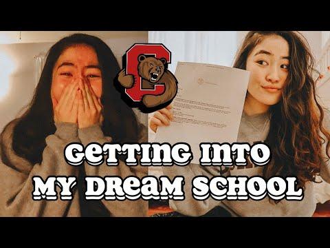 I GOT INTO MY DREAM SCHOOL   CORNELL UNIVERSITY/IVY LEAGUE EARLY DECISION (E.D) REACTION