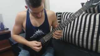 All That Remains - Criticism and Self Realization (Guitar Cover) HD