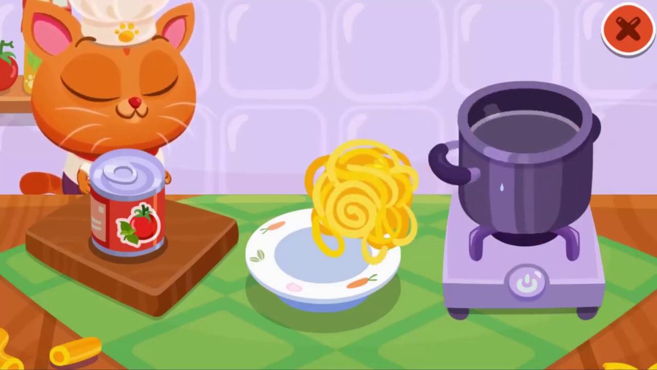 Learning to cook Bubbu my virtual pet