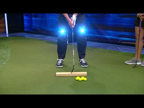 School of Golf: Headlights, A Wood Block, & Putting | Golf Channel