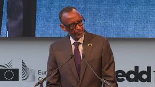 European Development Days 2019 | Remarks by President Kagame | Brussels, 18 June 2019