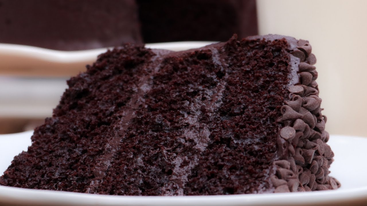 The Only CHOCOLATE CAKE You Need