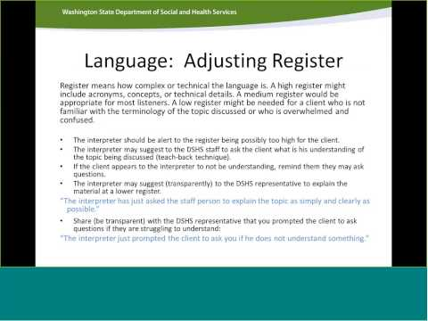 DSHSLTC Social Service Orientation