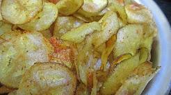 Vazhakkai chips, Vazhakkai Varuval-samayal in tamil